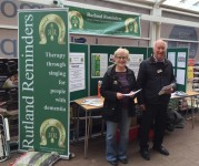 Rutland Reminders Volunteers at Tesco Oakham