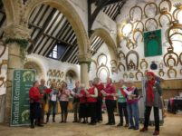 Volunteers at Oakham Castle